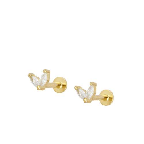 Petalos Piercing Oro
